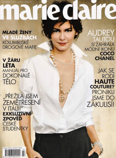 Audrey Tautou Marie Claire Czech July 2009