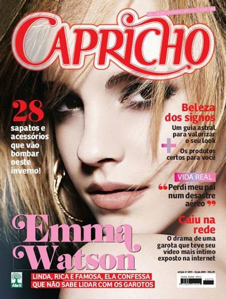 Emma Watson Capricho Magazine June 2009