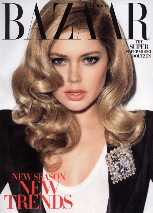 Harper's Bazaar July 2009- Doutzen Kroes