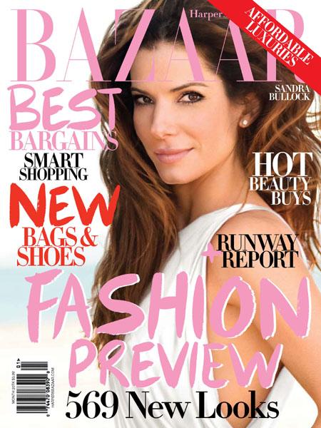Harper's Bazaar June 2009- Sandra Bullock