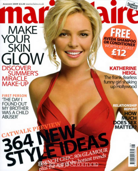 Katherine Heigl- Shaking Up – Marie Claire UK August