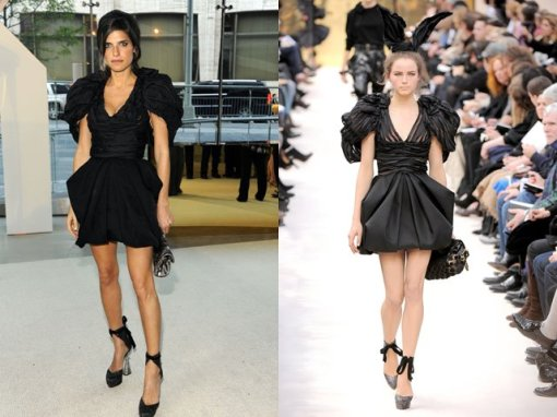 Lake Bell em Louis Vuitton Fall 2009