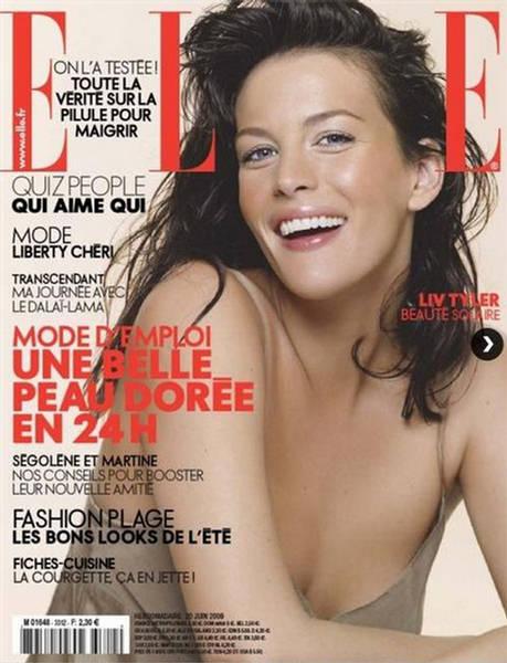 Liv Tyler Elle France June 2009