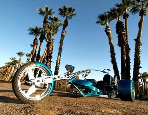 Porsche 911 Powered Trike 4