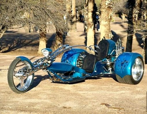 Porsche 911 Powered Trike