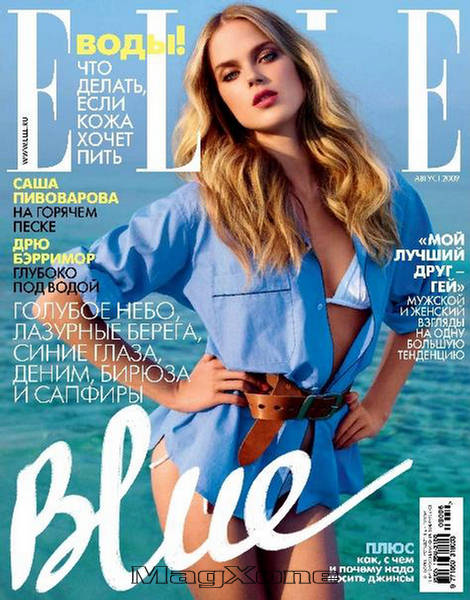 Shannan Click- The Blue Bird – Elle Russia August