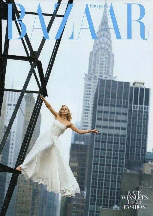 US Harper's Bazaar August 2009 Kate Winslet