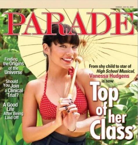 Vanessa Hudgens Parade Magazine July 2009
