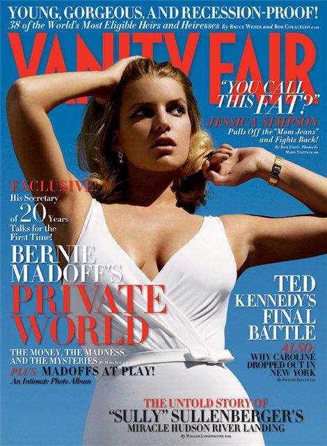 Vanity Fair Junio 2009- Jessica Simpson by Mario Testino