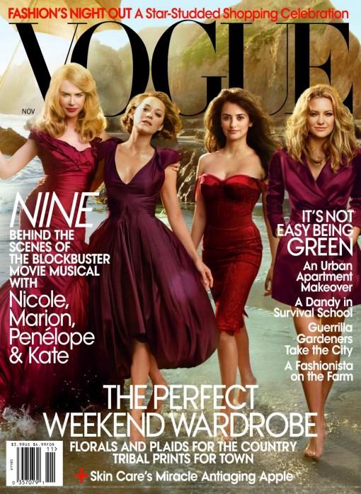 Vogue US Nicole, Kate H., Penelope & Marion