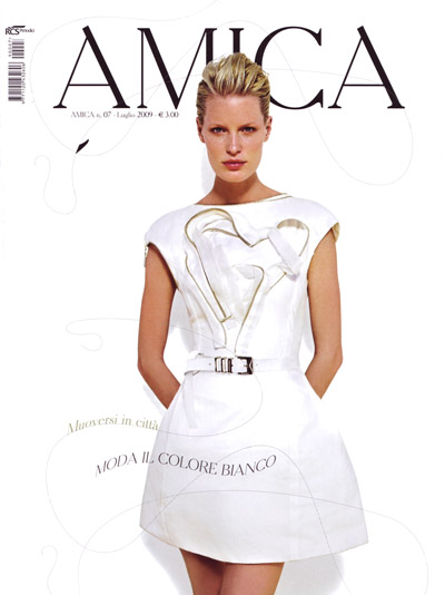 WEDNESDAY, JUNE 17, 2009  Caroline Winberg for Amica July 2009