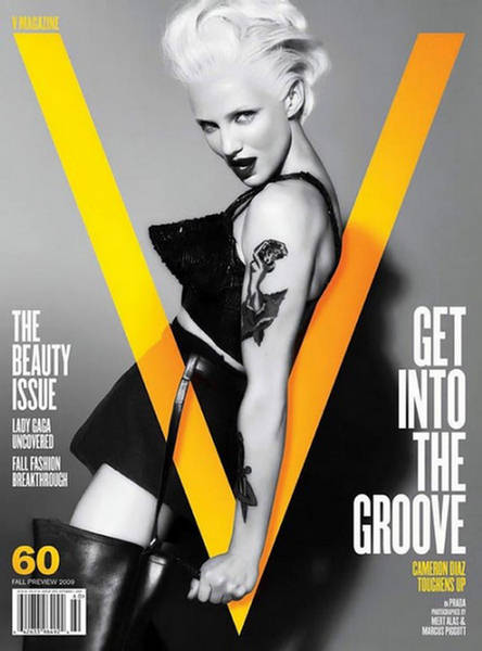 Cameron Diaz Covers V Magazine Fall Preview 2009