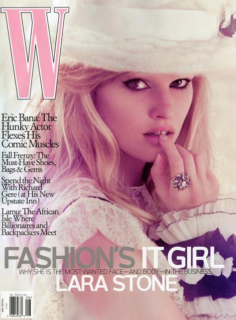 lara-stone-w-august-2009-cover-1