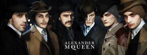 Alexander McQueen Fall Winter Campaign 01